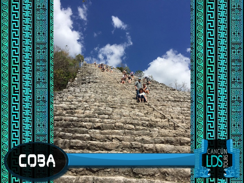 Coba Cancun LDS Tours Book of Mormon